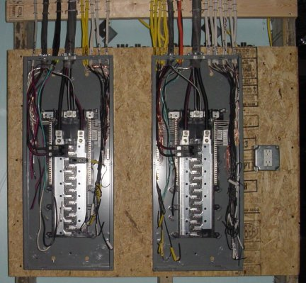 making your breaker box look pretty page 2 rh forums mikeholt com wiring panel box diagram wiring up a panel box